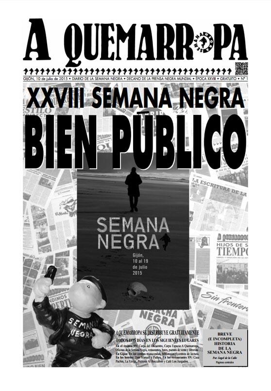 A Quemaropa - El diario oficial de la Semana Negra