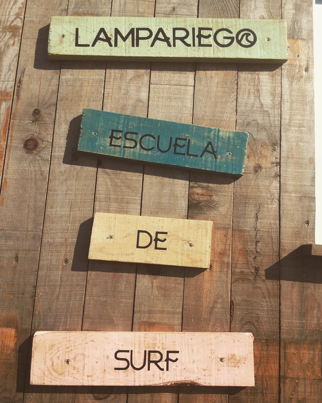 Lampariego escuela de surf en asturias