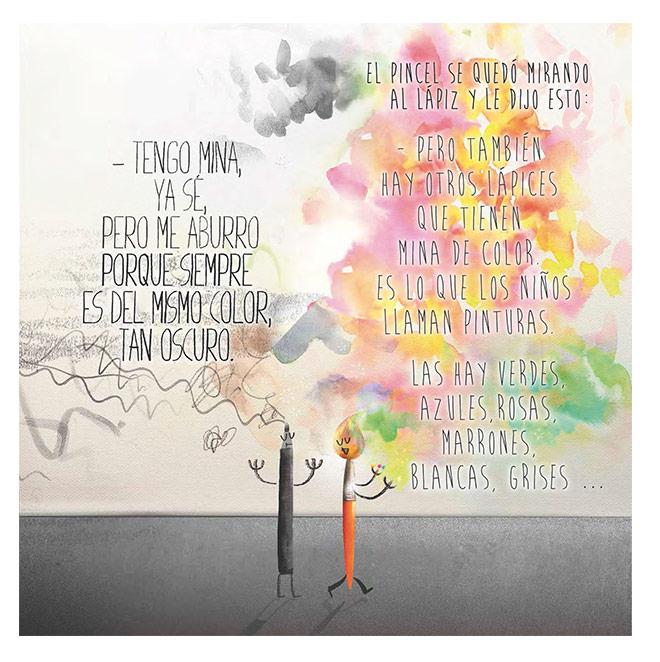 EL LÁPIZ EL PINCEL Y TÚ - Un cuento para despertar tu lado mas creativo - by Eduardo Morales