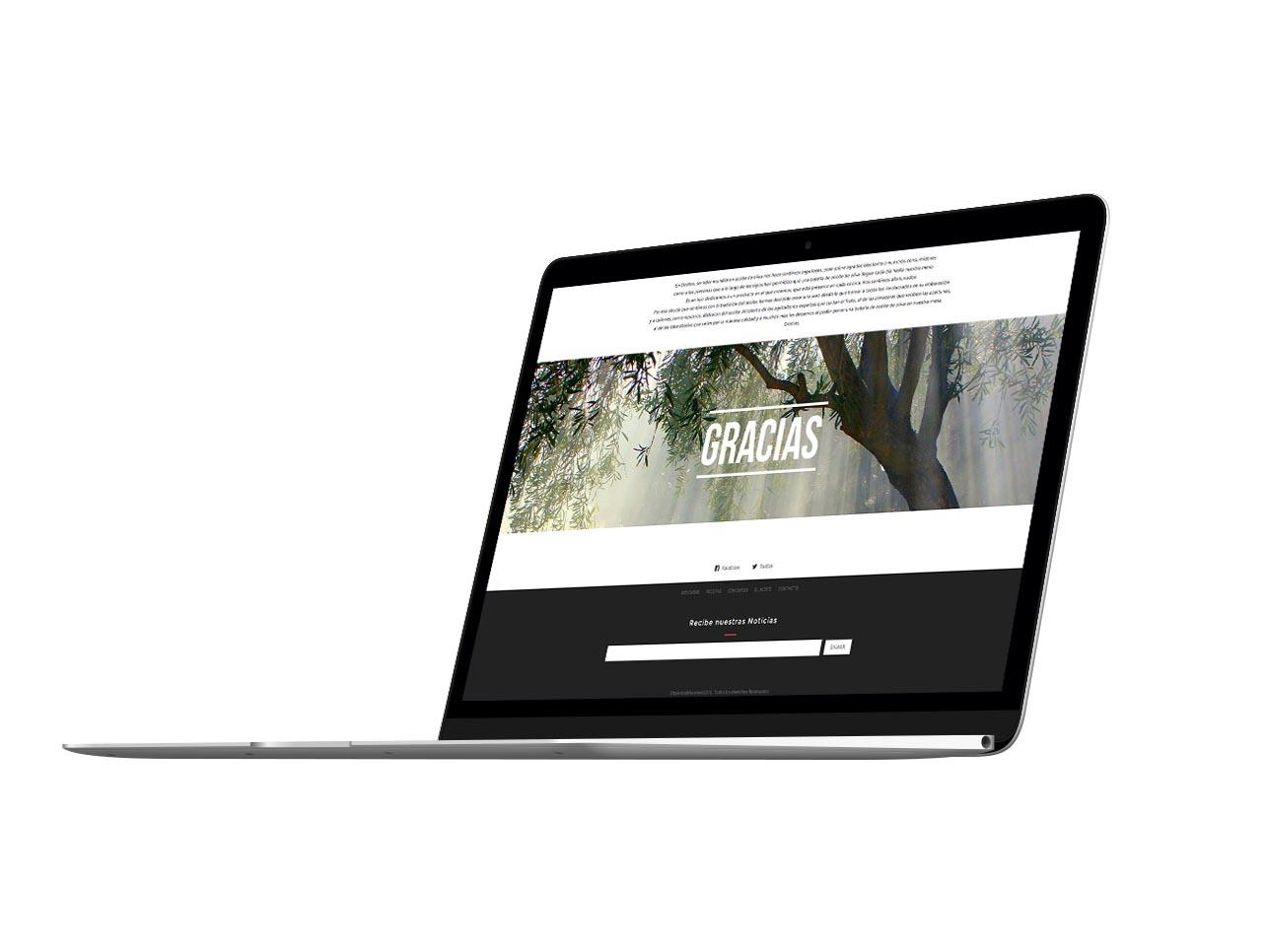 El Talento del aceite - websites web design by Eduardo Morales