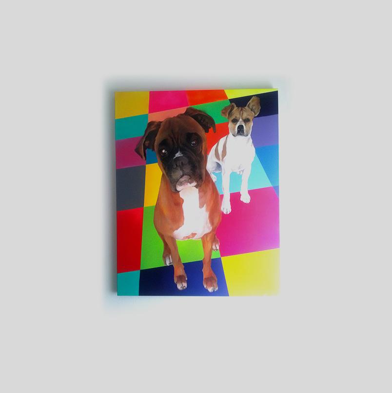 Retratros de mascotas by Eduardo Morales