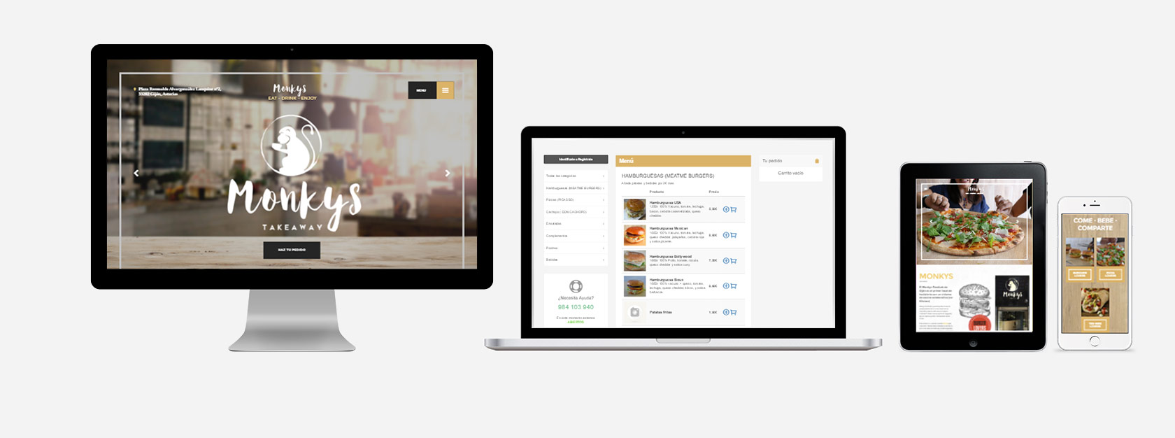 e-Commerce websites - web design by Eduardo Morales