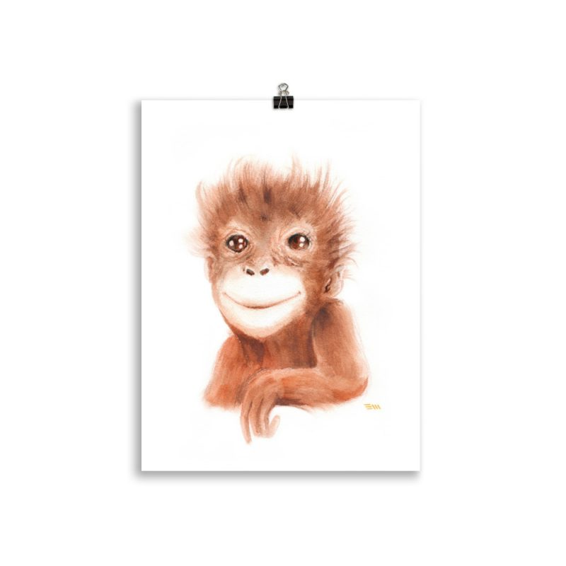 Baby Orangután 1
