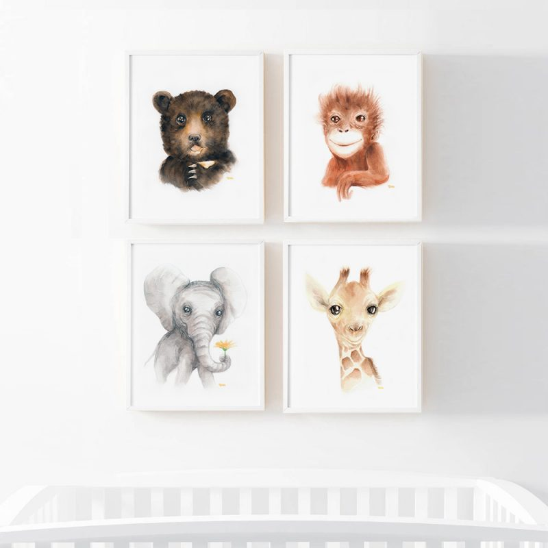 Bebes Animales - Pack 4 1